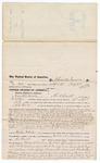 1876 June 6: Voucher, to Hamilton Moose, of Fort Smith, Arkansas, for assisting A.S. Fowler, U.S. deputy marshal, in U.S. v. John Rines (alias Scott), James Gardner, and John W. Femellash, introducing spirituous liquor into Indian Country, U.S. v. Anelly Welch, larceny in the Indian Country, U.S. v. Zack Chantis, larceny in the Indian Country, U.S. v. Ellick Taylor, larceny and introducing spirituous liquor in the Indian Country, U.S. v. Bill Anderson, larceny in the Indian Country, U.S. v. Walker Martin, larceny in the Indian Country, U.S. v. Cush Johnson, larceny in the Indian Country, U.S. v. Jack Frazier, larceny in the Indian Country, and U.S. v. John Lookbuck, introducing spirituous liquors into the Indian Country; Stephen Wheeler, clerk; James F. Fagan, U.S. marshal