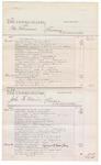 1876 May 29: Voucher, U.S. v. Peter Robinson, larceny; U.S. v. John H. Mooris, larceny; U.S. v. Joseph Williams, murder; U.S. v. David Beaux and Leander Beaux, larceny; includes cost of court fees
