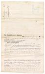 1876 June 03: Voucher, to George C. King, of Fort Smith, Arkansas, for assisting W.W. Milor, U.S. deputy marshal, in U.S. v. John H. Morris, larceny and U.S. v. Edward Johnson, murder; Stephen Wheeler, clerk