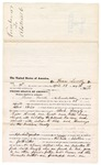 1876 June 03: Voucher, to Thomas Yernell, of the Cherokee Nation, for assisting Albert Neis, U.S. deputy marshal, in U.S. v. Work Langly, Cyras Hurard, One Cook, and Bettie Aren, violating the internal revenue law and assault with intent to kill and larceny; Stephen Wheeler and John Peck, clerk; James F. Fagan, U.S. marshal