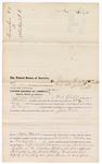 1876 June 29: Voucher, to James Taylor, of Fort Smith, Arkansas, for assisting E. Burgerin, U.S. deputy marshal, in U.S. v. Juba Lewis; Stephen Wheeler, clerk