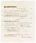 1876 July 8: Voucher, to DuVal Rapley, for guarding prisoners; J.J. Peirce, jailor; Stephen Wheeler, clerk
