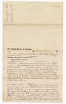 1876 June 24: Voucher, to Marrion Crane, of Fort Smith, Arkansas, for assisting G.W. McIntosh, U.S. deputy marshal, in U.S. v. James McKeaw, One Taylor, and One Belt, larceny, U.S. v. John Williams, larceny, U.S. v. Nate Nammen, assault with intent to kill, U.S. v. Neddie Knick, larceny, and U.S. v. Joshua Smith and Alfred Williams, introducing spirituous liquor; Stephen Wheeler, clerk