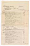 1876 June 21: Voucher, U.S. v. Irving McCain and Charles Gaines, murder; U.S. v. Roland R. Bryarly and Guy Jackson, larceny; U.S. v. William Thomas, larceny; U.S. v. William Davis and William Alden, larceny; includes cost of court fees