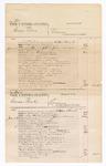 1876 June 26: Voucher, U.S. v. George Dieue, larceny; U.S. v. Caesar Boyd, larceny; includes cost of court fees