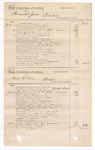 1876 July 19: Voucher, U.S. v. Edward Givens, larceny in the Indian Country; U.S. v. William Roah, assault with intent to kill in the Indian Country; U.S. v. Hannibal Jones, murder in the Indian Country; U.S. v. Irving McCain, murder in the Indian Country; includes cost of court fees