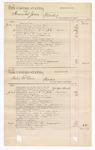1876 July 19: Voucher, U.S. v. Edward Givens, larceny; U.S. v. William Roah, assault with intent to kill; U.S. v. Hannibal Jones, murder; U.S. v. Irving McCain, murder; includes cost of court fees