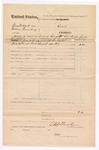 1876 June 21: Voucher, U.S. v. George W. Clark and William Quenberry; U.S. Fowler, U.S. deputy marshal
