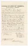 1876 September 02: Bond for witness, Samuel Moore, Sonny Grayson, Emeline Duck, and Adam Duck, witness, in U.S. v. James Ussery and Andy Griffin, larceny; Stephen Wheeler, commissioner; J.C. Wilkinson, witness to signatures
