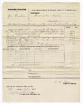 1876 September 27: Voucher, U.S. v. Joe Dunbar, introducing spiritous liquor; includes cost of mileage, feeding one prisoner, and travel expenses; served by W.R. Ayers, U.S. deputy marshal; Stephen Wheeler, clerk