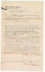 1876 September 15: Bond for defendant, U.S. v. William E. Wright, assault with intent to kill; Stephen Wheeler, commissioner