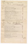 1876 September 14: Voucher, U.S. v. Samuel Banks, assault with intent to kill in the Indian Country; U.S. v. James Phillips, retail liquor dealer without paying special tax; U.S. v. Daniel Sperker and Joseph Fonatubber, larceny in the Indian Country; U.S. v. Eastman Chuck, larceny in the Indian Country; includes cost of court fees