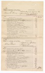 1876 September 16: Voucher, U.S. v. Isaac W. Searcy, obstructing and impeding the administration of justice; U.S. v. Allen Beagle, introducing spiritous liquors; U.S. v. Joshua Smith, larceny; U.S. v. Alfred Williams, larceny; includes cost of court fees