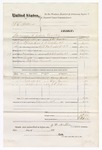 1876 November 11: Voucher, U.S. v. S.C. Stillwell, larceny in the Indian Country; includes cost of mileage, feeding one prisoner, and travel expenses; Harry Heck, One Gollen, and J.L. Jelen, subpoenaed witnesses; Wallace Bennett, posse comitatus; served by J.W. Mullin, U.S. deputy marshal