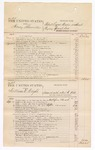 1876 September 19: Voucher, U.S. v. Henry Shannon, retail liquor dealer without paying special tax; U.S. v. William E. Wright, assault with intent to kill in the Indian Country; U.S. v. James Crittenden, assault with intent to kill; U.S. v. William R. Nave, murder in the Indian Country; includes cost of court fees