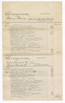 1876 September 30: Voucher, U.S. v. Thomas Thomas, assault with intent to kill; U.S. v. Robert Marshall and Moses Marshall, larceny; U.S. v. Ti-ta-Ka, Joseph Riley, Te-se-ki-ah Kar-jo, L. le Ferneuh, and Cub McIntosh, murder; includes cost of court fees