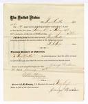 1876 January 21: Voucher, to George Heikler, for his services of guarding prisoners in the U.S. jail; G.S. Peirce, jailor; Stephen Wheeler, clerk; J.F. Faga, U.S. Marshal