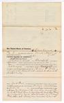1876 May 08: Voucher, to Lewis Carnett, of Fort Smith, Arkansas, for assisting J.S. Vandegriff, U.S. deputy marshal, in U.S. v. Benjamin F. Brady, assault with intent to kill; John W. Peck, commissioner; Stephen Wheeler, clerk