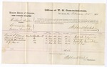 1876 February 25: Voucher, U.S. v. Richard Taylor, larceny; includes cost of per diem and mileage; David S. Lewis, Thomas R. Lewis, Vandike Barrieklow, and D.J. Lord, witnesses; Stephen Wheeler, commissioner