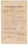 1876 February 21: Bond for witness, Emmy Stockwell, Nancy McLaughlin, and Michael Stockwell, witnesses, in U.S. v. William Walker, rape; C.R. Stephenson and J.S. Vandegriff, witness of signatures; John Peck, commissioner