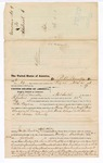 1876 April 22: Voucher, to R.A. Donnelly, of Fort Smith, Arkansas, for assisting T.A. Terryman, U.S. deputy marshal, in U.S. v. Henry Love and Joseph L. Guess, larceny and U.S. v. John Amos, murder in the Indian Territory; John M. Peck and Stephen Wheeler, commissioner; J.F. Fagan, U.S. marshal