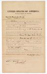 1876 March 6: Bond for witness, Nathan Cochran, witness, in U.S. v. Henry H. Wells, larceny; John M. Peck, commissioner