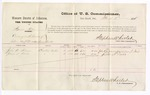 1876 March 8: Voucher, U.S. v. Squire Allen, carrying on the business of dealer in manufactured tobacco without paying special tax; includes cost of per diem and mileage; John B. Monser and James S. Davis, witnesses; Stephen Wheeler, commissioner