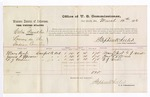 1876 March 10: Voucher, U.S. v. Celia Franklin, larceny; includes cost of per diem and mileage; Mary Besh, James K. Epperson, and E.J. Verdin, witnesses; Stephen Wheeler, commissioner
