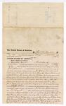 1876 June 10: Voucher, to Hamilton Moose, of Fort Smith, Arkansas, for assisting J.P. Allnutt, U.S. deputy marshal, in U.S. v. Joe Young, larceny , U.S. v. Lewis Hays (alias Logan), assault , U.S. v. Littleton Hoelt, larceny , U.S. v. Charles Burk, assault , U.S. v. Henry Smith, violation Revenue laws , and U.S. v. James Grills, counterfeiting; Stephen Wheeler, commissioner