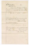 1876 March 20: Voucher, to Nathaniel H. Grey, for services as bailiff at the District Court for the March Term; T.P. Delclaire, clerk; J.F. Fagan, U.S. marshal