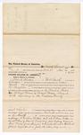 1876 April 21: Voucher, to Frank Kerens, of Fort Smith, Arkansas, for assisting E. Burgerin, U.S. deputy marshal, in U.S. v. Richard Munn and Samuel Munn, larceny in the Indian Country; Stephen Wheeler, commissioner; James F. Fagan, U.S. marshal
