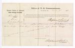1876 March 25: Voucher, U.S. v. Robert Love, larceny; includes cost of per diem and mileage; Lewis Dodge, witness; James F. Fagan, U.S. marshal; Stephen Wheeler, U.S. commissioner