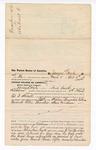 1876 April 17: Voucher, to James Doyle, of Fort Smith, Arkansas, for assisting Ed F. Stowell, U.S. deputy marshal, in U.S. v. Stephen Bluejacket, William Hedrick, Ellen Thornton, and Steve Foreman; Stephen Wheeler, clerk; James F. Fagan, U.S. marshal