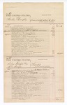 1876 April 10: Voucher, U.S. v. Martin Murphy, assault with intent to kill; U.S. v. Silas Wolfe (alias William Wolfe), murder; U.S. v. Henry McDermoth, assault with intent to kill; U.S. v. Stephen Bluejacket, indictment on November Term 1875 for violation of U.S. internal revenue laws; includes cost of court fees