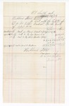1876 April 30: Voucher, includes cost of bankruptcy payments; Hubbard Stone, assignee of D.A. McKibben