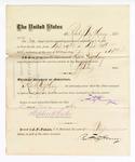 1876 May 06: Voucher, to Robert Fitz Henry, for service guarding prisoners in U.S. jail; G.S. Peirce, jailor; Stephen Wheeler, clerk; J.F. Fagan, U.S. marshal