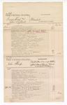 1876 May 04: Voucher, U.S. v. George West and John Leflone, murder; U.S. v. John Sharp, indictment May Term 1875 for violation of U.S. internal revenue laws; U.S. v. John Anderson, larceny; U.S. v. Joshua Wade, larceny; includes cost of court fees