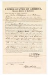 1876 May 4: Bond for witness, John Littlepage and William Kile, witnesses, in U.S. v. Joshua Wade, larceny in the Indian Country; Stephen Wheeler, commissioner
