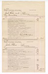 1876 May 06: Voucher, U.S. v. Josh Wade and One Cornelius, larceny; U.S. v. John Shaw, larceny; U.S. v. Ed. Withers, William Jones, and Samuel Johnson, larceny; U.S. v. Ed Withers, altering and passing counterfeit national bank bills; includes cost of court fees