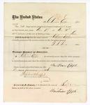 1877 January 11: Voucher, to Christian Epple, for service guarding prisoners in U.S. jail; G.S. Peirce, jailor; Stephen Wheeler, clerk; J.F. Fagan, U.S. marshal