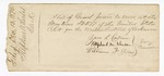1876 December 13: Envelope, contained list of Grand Jury to serve at the May term 1877; Zara L. Cotton, Raphoul M. Johnson, and William F. Jones, jury commissioners; Stephen Wheeler, clerk