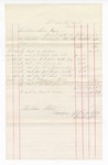 1877 March 31: Voucher, to Hubbard Stone: includes payments for bankruptcy from B.J. Attison, William Wheeler, R.J. Dickinson, William Carson, J.S. Grage, B.J. Small