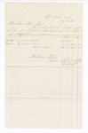1877 May 31: Voucher, includes payments of bankruptcy; Hubbard Stone, assignee of D.A. McKibben