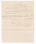 1877 June 30: Voucher, includes payments of bankruptcy; Hubbard Stone, assignee of D.A. McKibben