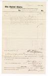 1877 September 17: Voucher, to Robert G. Campbell; includes cost of service as bailiff; D.P. Upham, U.S. marshal; Stephen Wheeler, clerk