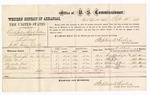 1877 September 12: U.S. v. Charles Jackson and Elijah Jackson, larceny; includes cost of per diem and mileage; George Washington, Peter Nail, Alexander Nail, and William Colbert, witnesses; John Peterson, witness of signatures; D.P. Upham, U.S. marshal; Stephen Wheeler, commissioner
