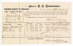 1877 September 13: Voucher, U.S. v. Samos King, larceny in the Indian Country; includes cost of per diem and mileage; Christopher G. Givers, Preston Poe, and Thomas Carroll, witnesses; W.M. Barnes, witness of signature; D.P. Upham, U.S. marshal; Stephen Wheeler, commissioner