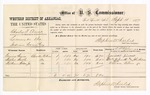 1877 September 15: U.S. v. Charles F. Elwers, larceny; includes cost of per diem and mileage; Gaines Simco, Walter Smith, and William Wilson, Jr, witnesses; John Paterson, witness of signature; D.P. Upham, U.S. marshal; Stephen Wheeler, commissioner