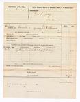1877 November 18: Voucher, for Grand Jury subpoenaed witness; L.J. Olney, witness; served by J.C. Wilkinson