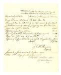 1878 August 05: Voucher, U.S. v. various goods, violation of Intercourse laws; J.C. Wilkinson, U.S. deputy marshal; M.C. Chamblain; Stephen Wheeler, clerk